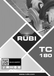 RUBI TC-180 manual